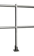 Immagine di Parapetto P-line orizzontale